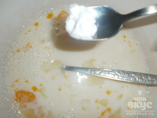 Блины с сахаром