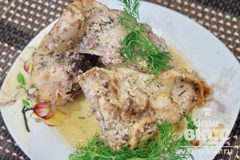Рецепт приготовления кролика в сметане в духовке с пошагово
