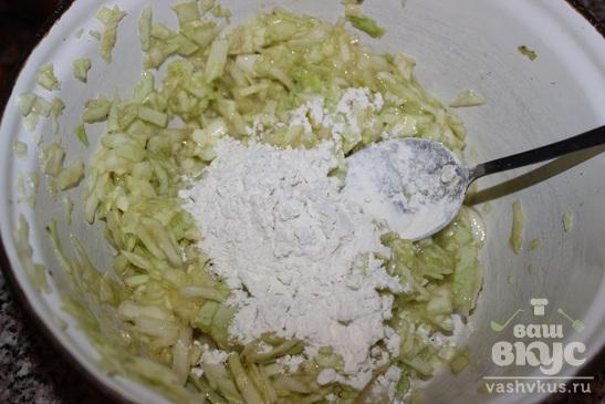 Котлеты из белокочанной капусты