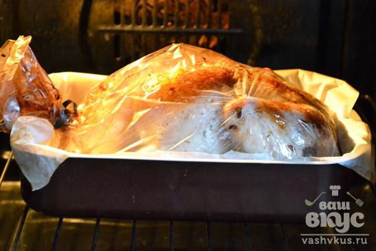 Сочная курица в пакете