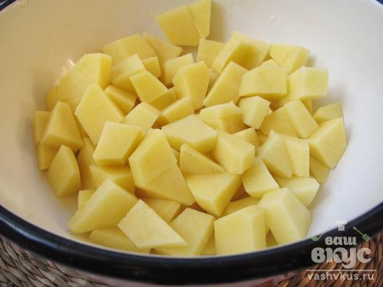 Гречневый суп со спаржевой фасолью