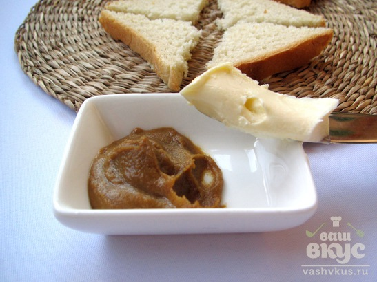 Бутерброды с горчичным маслом