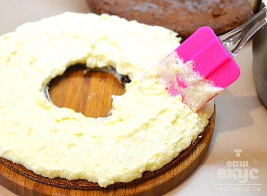 Крем для торта из манки с лимоном