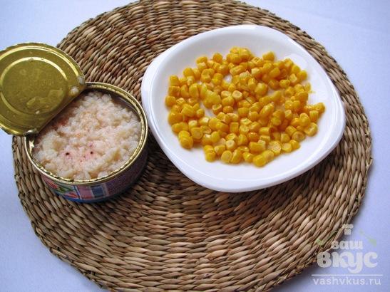Суп с мясом криля и кукурузой