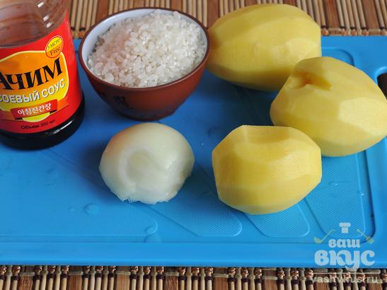 Картофельный суп со сливками по-японски
