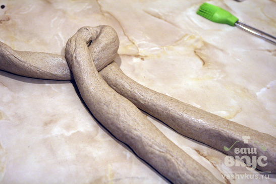 "Дрожжевой хлеб ""Косичка"""