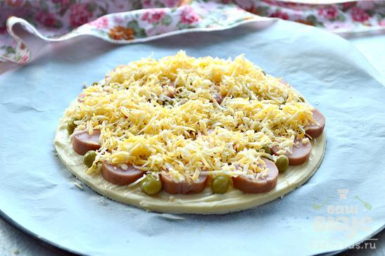 Мини-пицца для ленивых