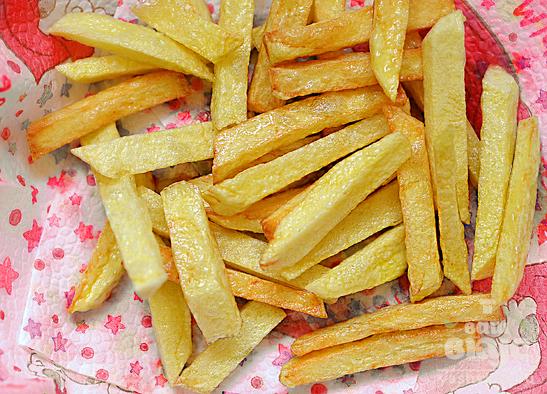Картошка жареная во фритюре