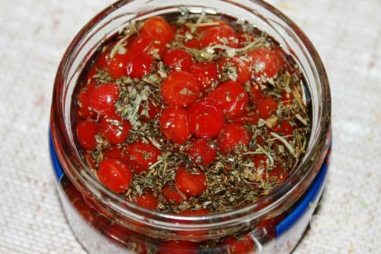 Ароматное масло с калиной для салатов