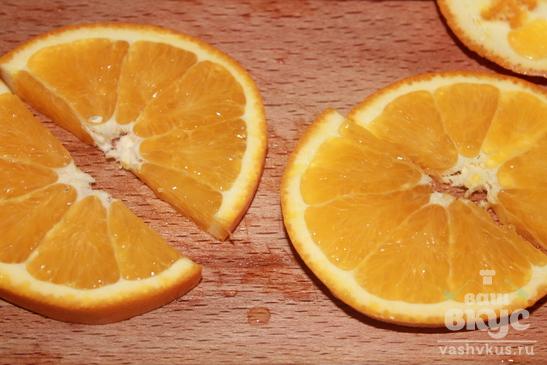 Утиные бедрышки с апельсинами