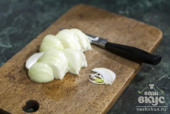 Жареный картофель с маслятами