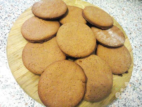Шоколадное печенье «Смайлики»
