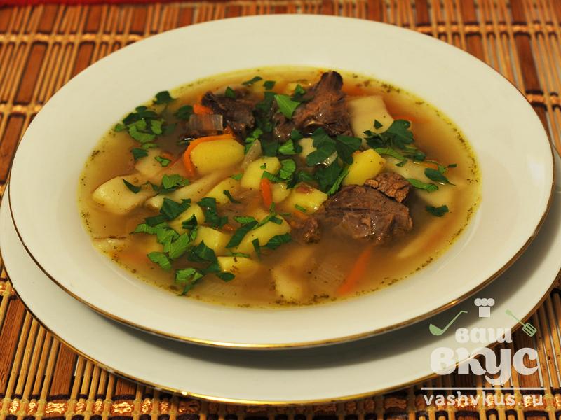 рецепты супов из оленины