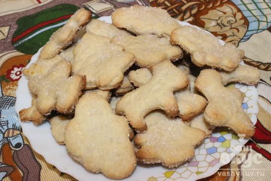 Печенье песочное сахарное