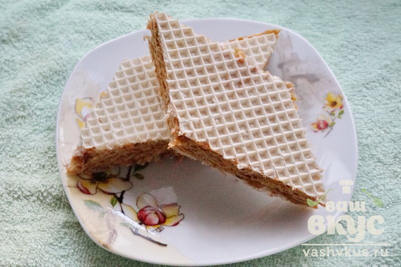 вафли со сгущёнкой рецепт с фото