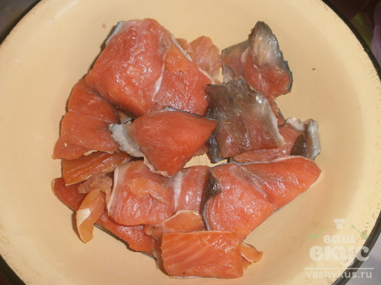 Бутерброды с лососем