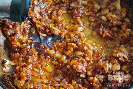 Тефтели в томатно - соевом соусе