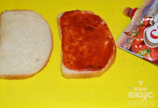 Горячий сэндвич в микроволновке