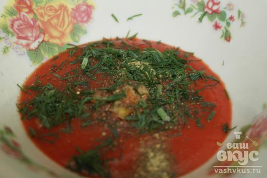 Томатный соус с чесноком