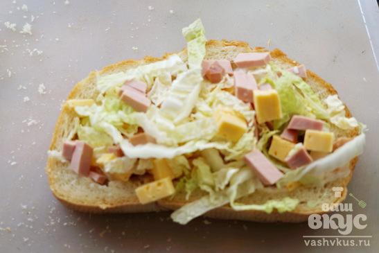 Бутерброд в духовке