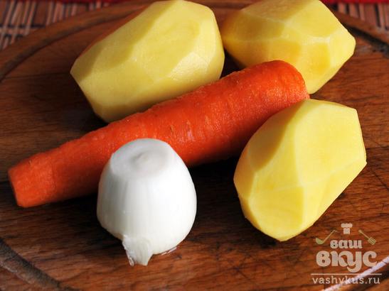 Бабушкины щи вегетарианские