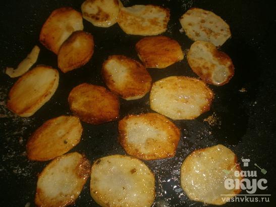 Домашние чипсы на сковороде