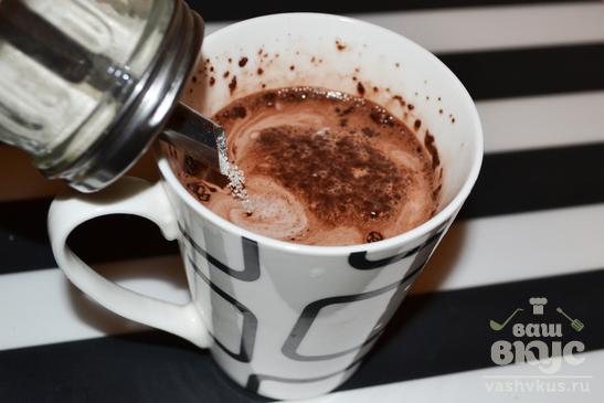 Какао в микроволновке