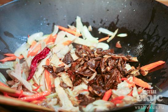 Азиатский суп с цветной капустой