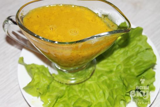 Апельсиновый соус к мясу рецепт