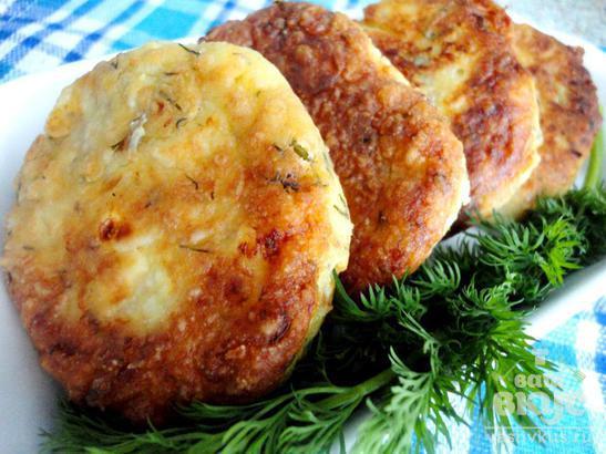 Сырники с укропом и грецкими орехами