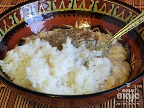 Голубцы с курицей и рисом