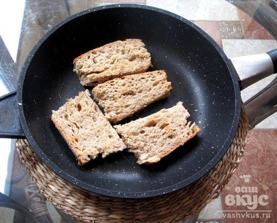 Закусочные бутерброды с салом