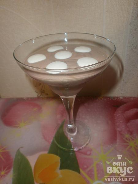 Десерт со сметаной и какао