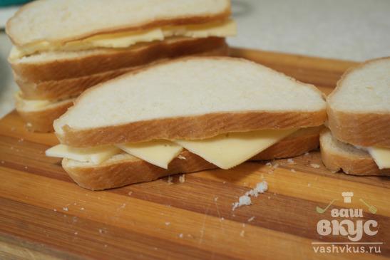 Гренки в кляре с сыром
