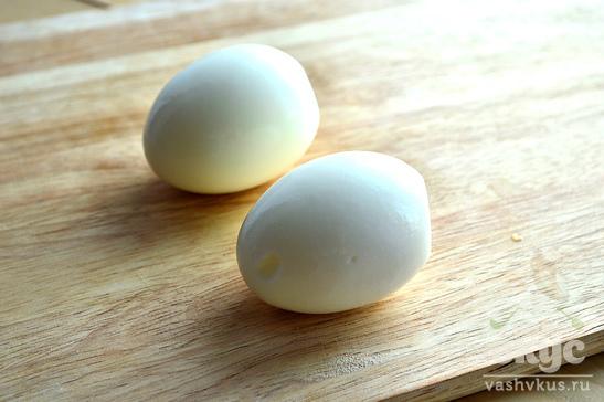 Яйца, фаршированные зеленым луком