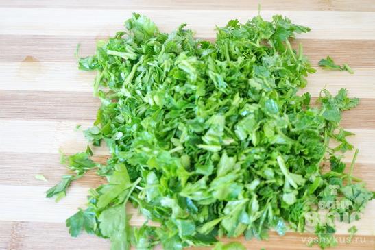 Соус сметанный с зеленью