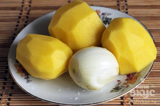 Похлебка из фасоли и замороженных овощей