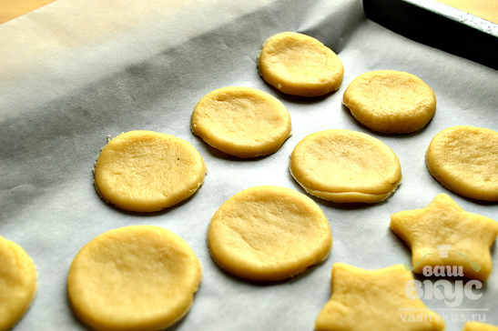 Рассыпчатое песочное печенье рецепт с фото пошагово