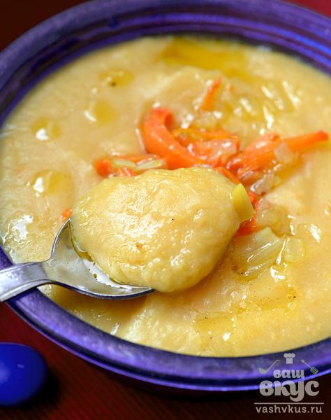Горохово - картофельное пюре