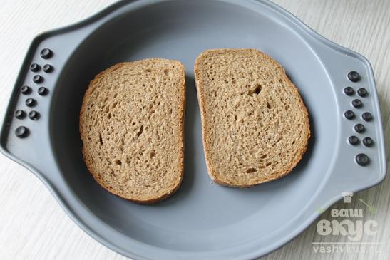 Горячие бутерброды с ветчиной, сыром и майонезом