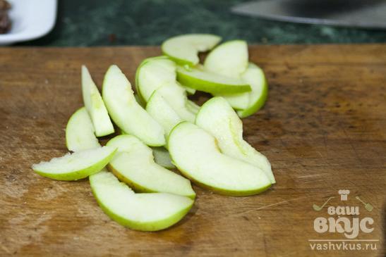 Салат со шпинатом, яблоком и грейпфрутом