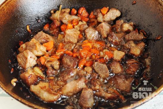 Узбекский плов со свининой