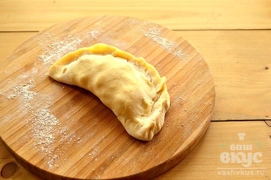 Пирожки по-татарски с картофелем