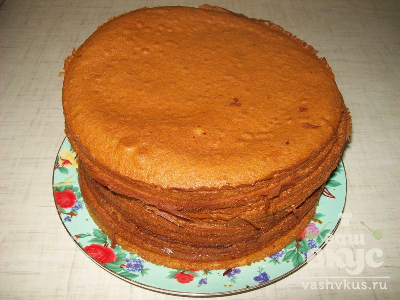 торт жидкий медовик рецепт