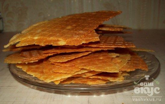 Домашние чипсы с паприкой в вафельнице