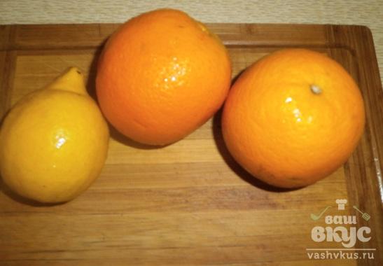 Напиток из апельсина и лимона