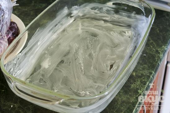 Запеканка рисовая с вишней
