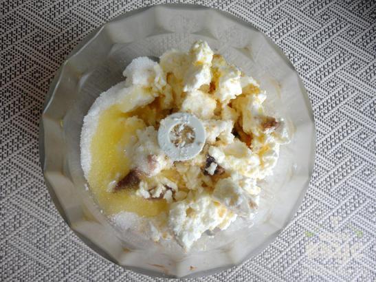 Творожные шарики с мороженым