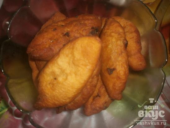 Жареные пирожки с начинкой из перца с капустой