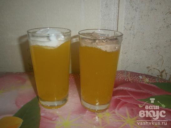 Безалкогольный напиток «Снежный ком»